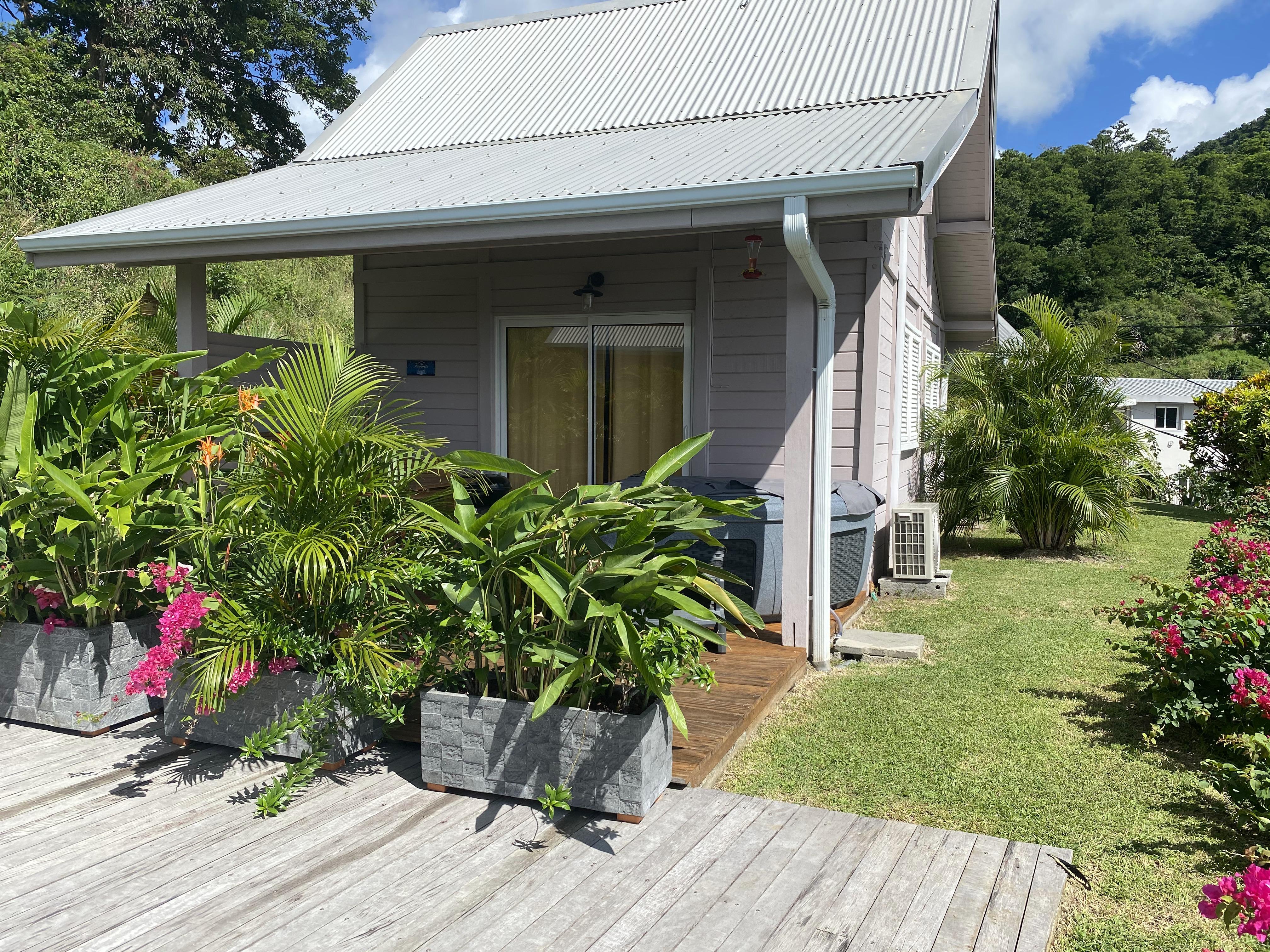 Hibiscus - Chalet/Cottage - 1 à 4 personnes + 1 couchage appoint enfant